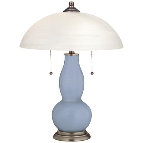 Blue Sky Gourd Shaped Table Lamp With Alabaster Shade 26x11 Lamps Plus Table Lamp Lamp Cream Table Lamps