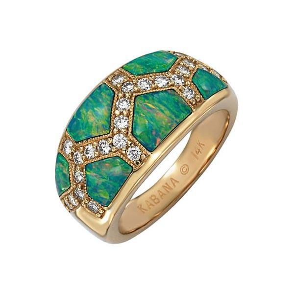 Kabana s outstanding Australian Opal jewelry has made its