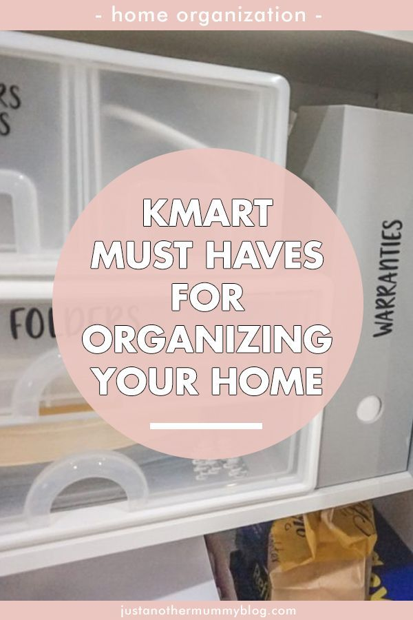 Looking for organization ideas for the home? Here are some tips and tricks for organizing your home with these amazing Kmart finds! #organization | justanothermummyblog.com