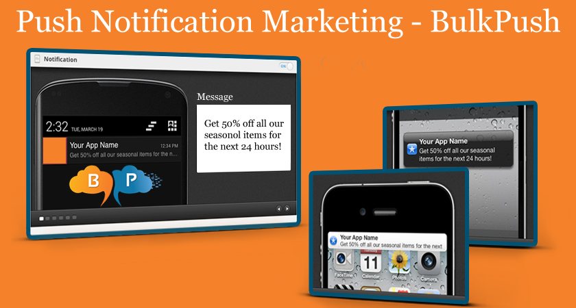 We can help you create promotions, product updates and