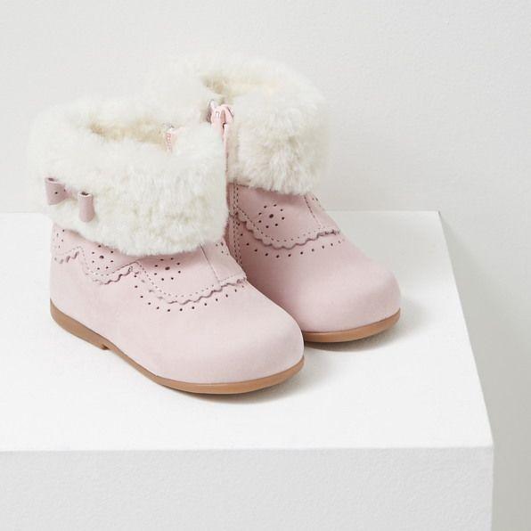 Boots fourrées bébé fille