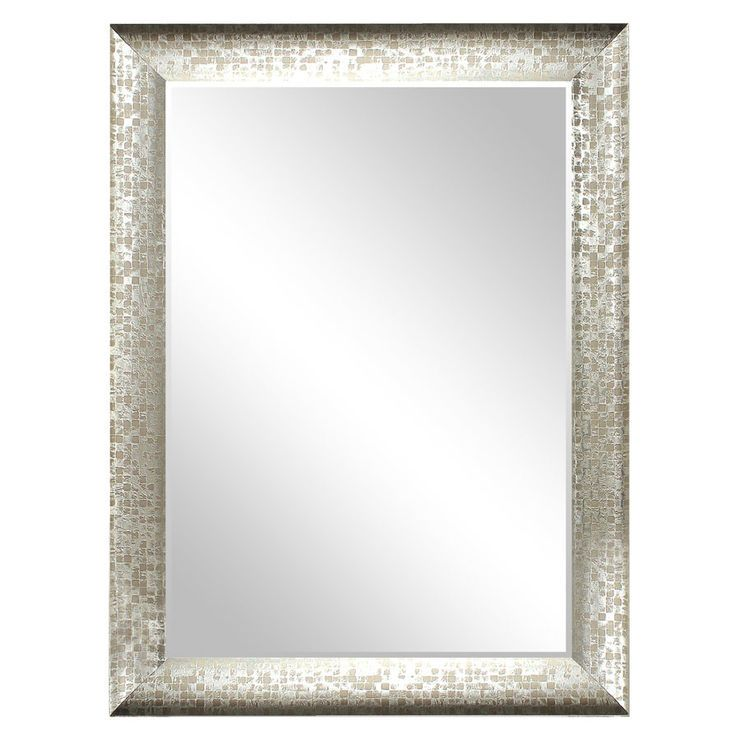 30 X 40 In Pewter Olivia Mirror Mirror Bath Remodel Home