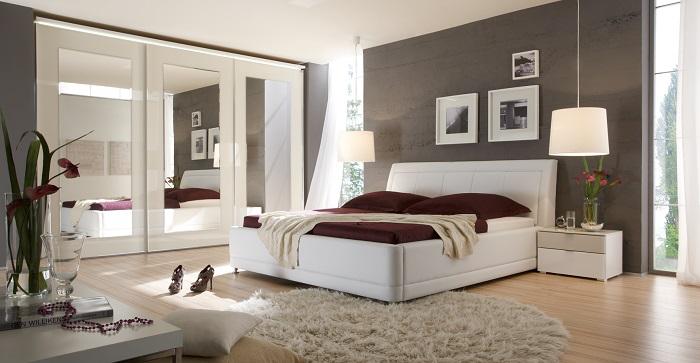 modern and bright master bedroom mit bildern  nolte