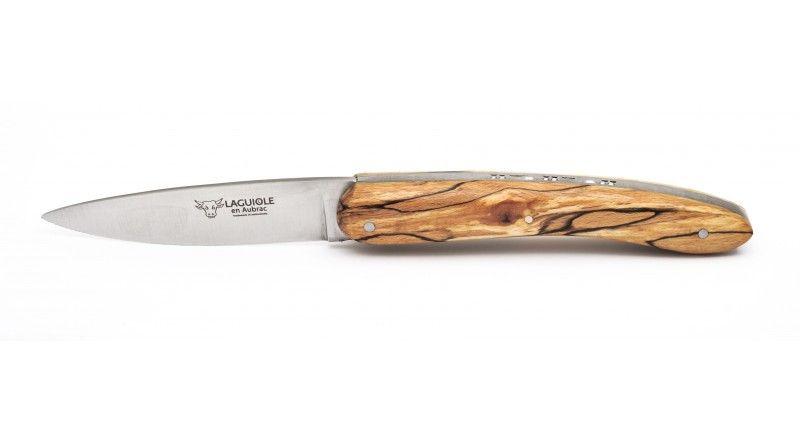 couteau de poche en bois