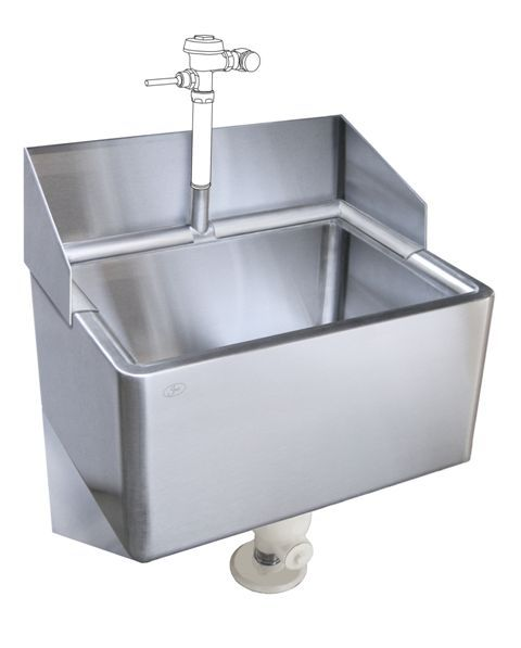 Clinic Sink With Full Flushing Rim Wash Down Feature Sink Sink Design Wash
