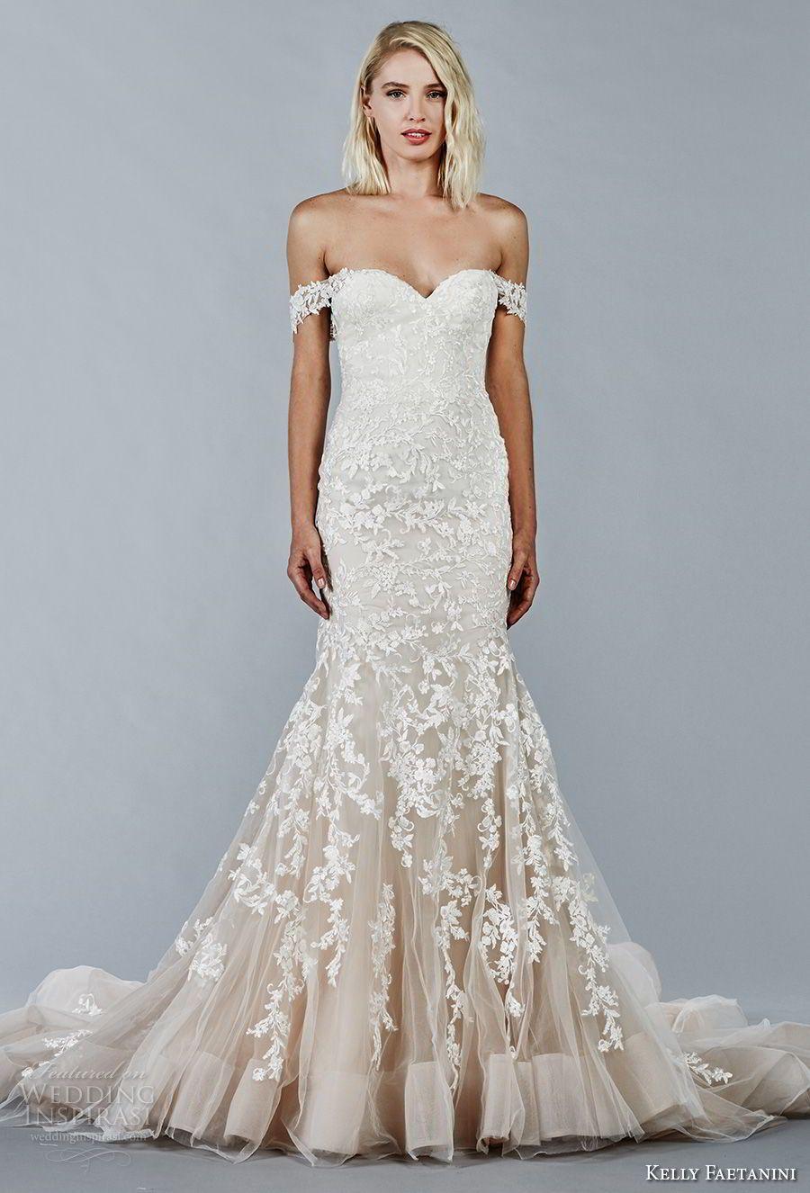 Kelly Faetanini Fall 2018 Wedding Dresses | Mermaid wedding dresses ...