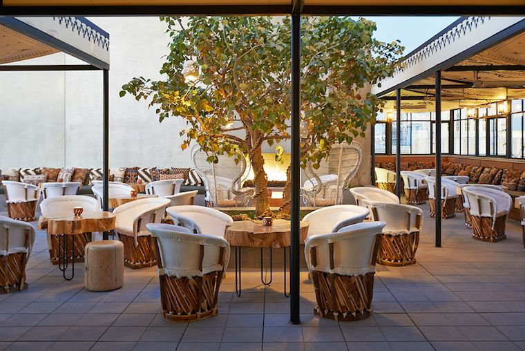 Sky Bar Ace Hotel Downtown Los Angeles Luxury Boutique Hotel In - Ace hotel portland downtown la