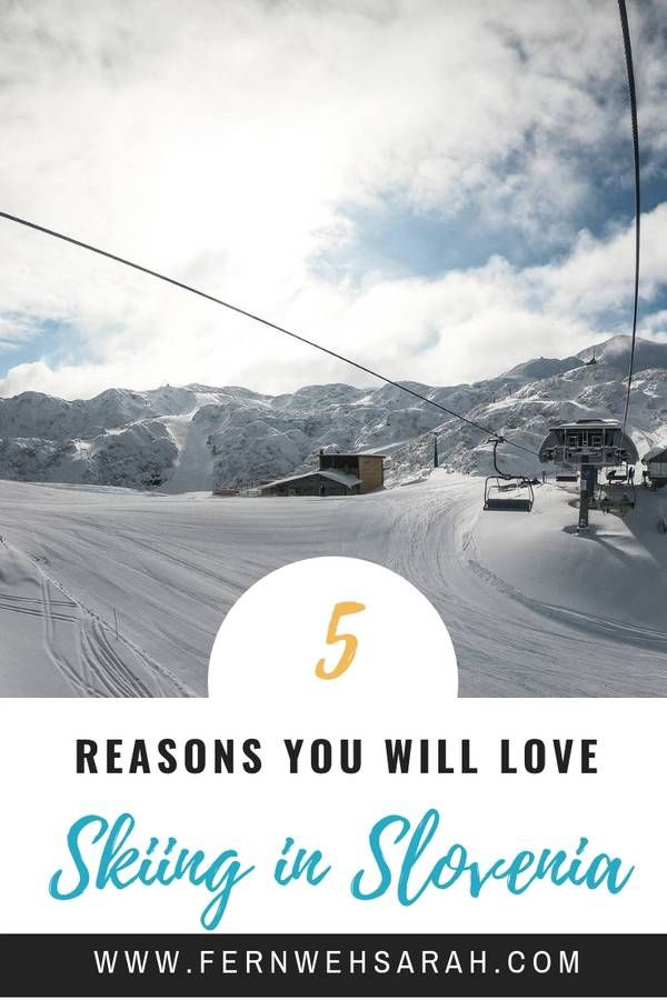 Photo of 5 Reasons why you will really love skiing in Slovenia