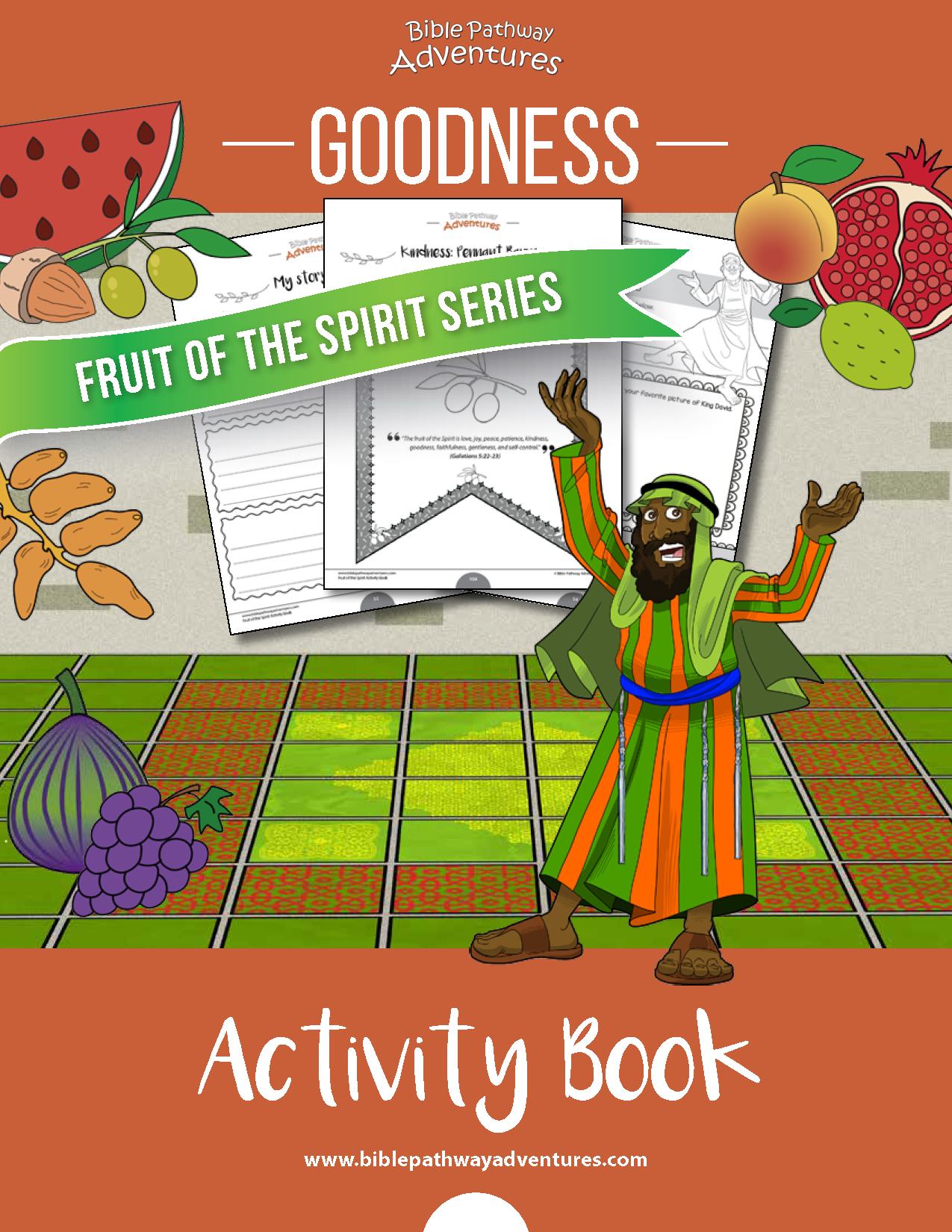 Goodness Fruit Of The Spirit Activity Book Amp Lesson Plan