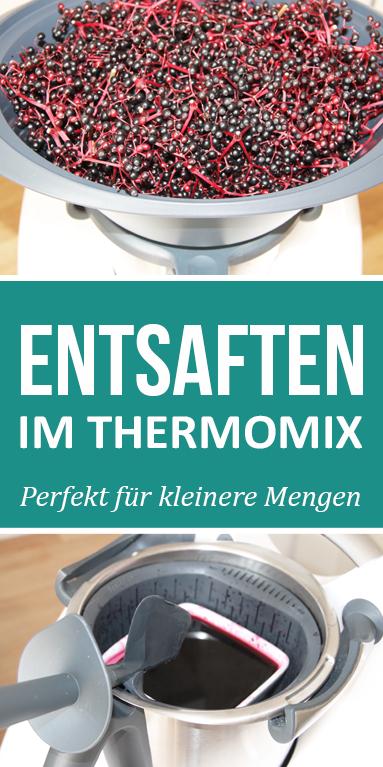 Photo of Entsaften im Thermomix, so einfach geht's. Perfekt für kleinere Mengen.