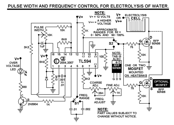 Hho Pwm Circuit Enthusiast Wiring Diagrams \\u2022 Control Schematic Hho Circuit Schematics