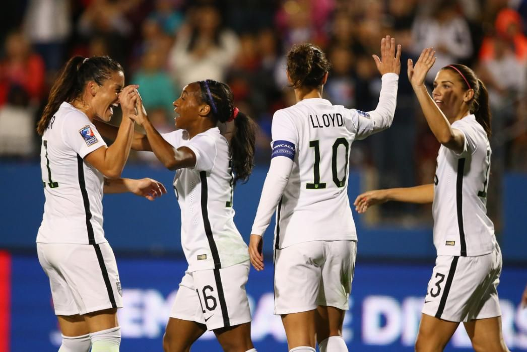 USWNT kicks off Olympic qualifying with 50 win over Costa