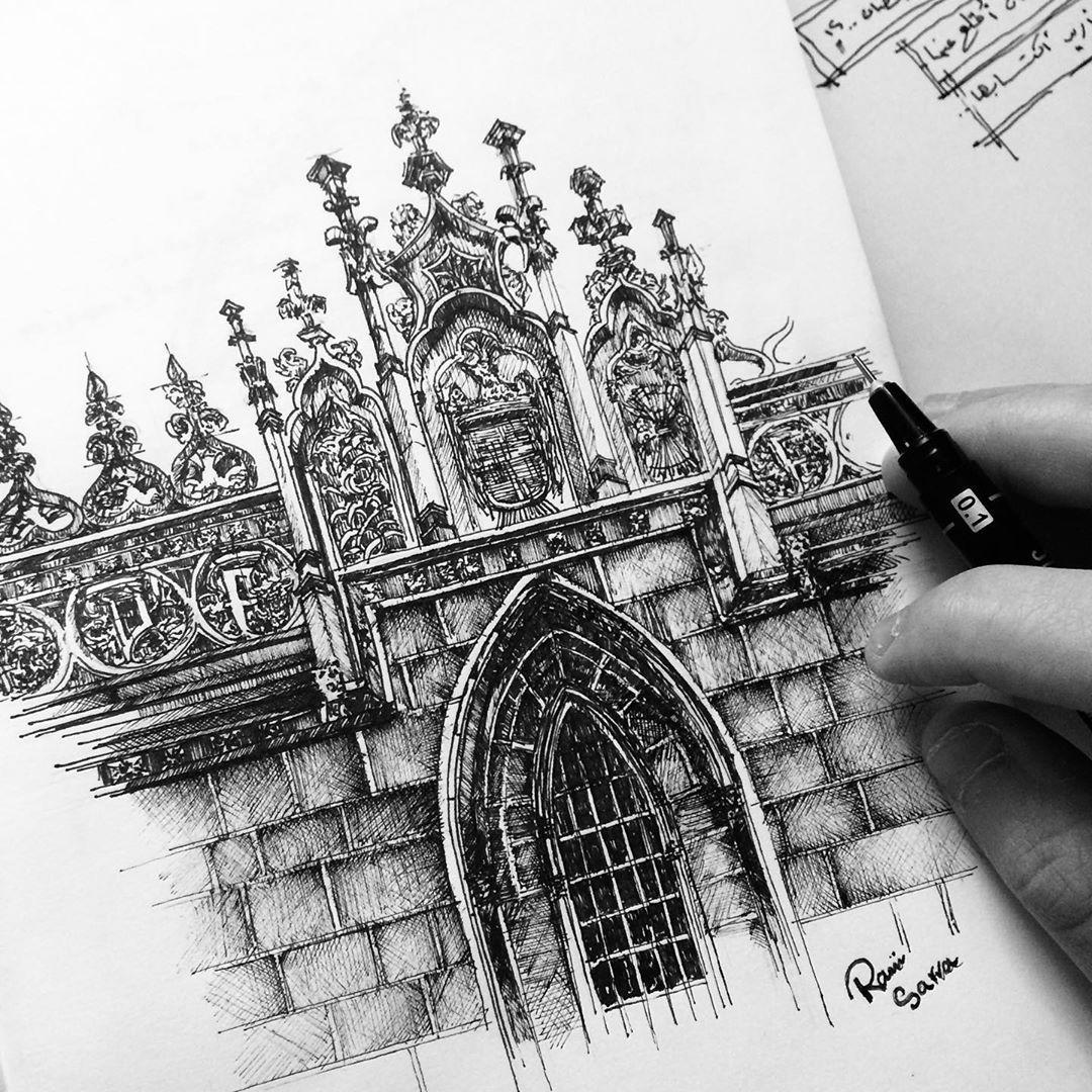 Rami Sarrah On Instagram معالم في الأندلس الكنيسة الملكية في اسبانيا غرناطة هو معبد للطائفة الكاثولكية تقع في وسط غرناطة عبارة عن مبنى من طراز قوط