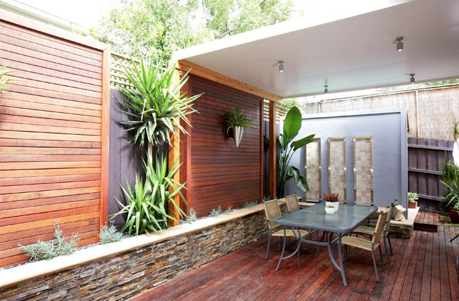Courtyard Or Patio Landsape Using Solarspan Insulated