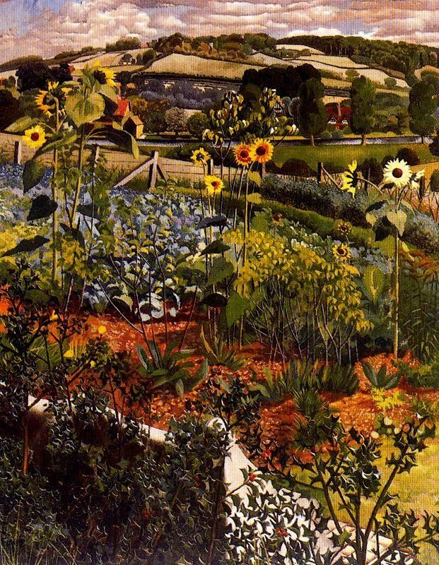 Sir Stanley Spencer(1891ー1959 an English painter)「Rowborough. Cookham」(1934)