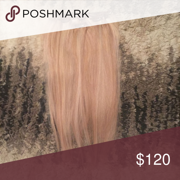 18 Remy Hair Extensions Blonde Remy Extensions Kept In Great