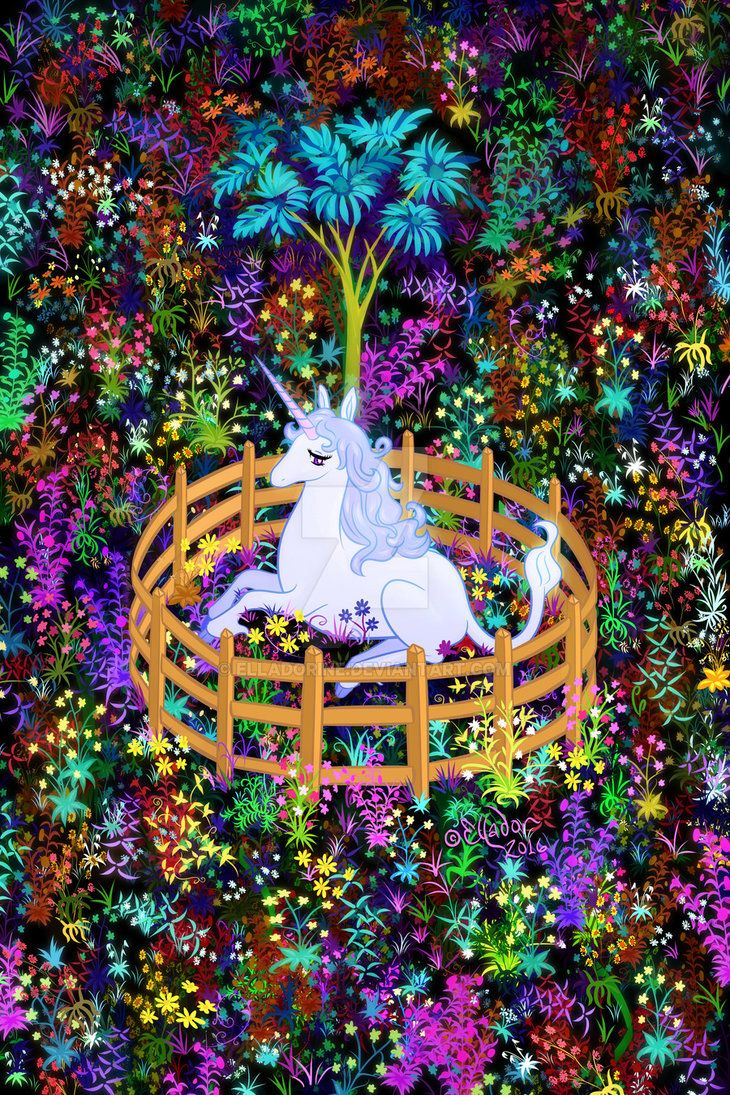 The Unicorn In Captivity By Elladorine Deviantart Com On