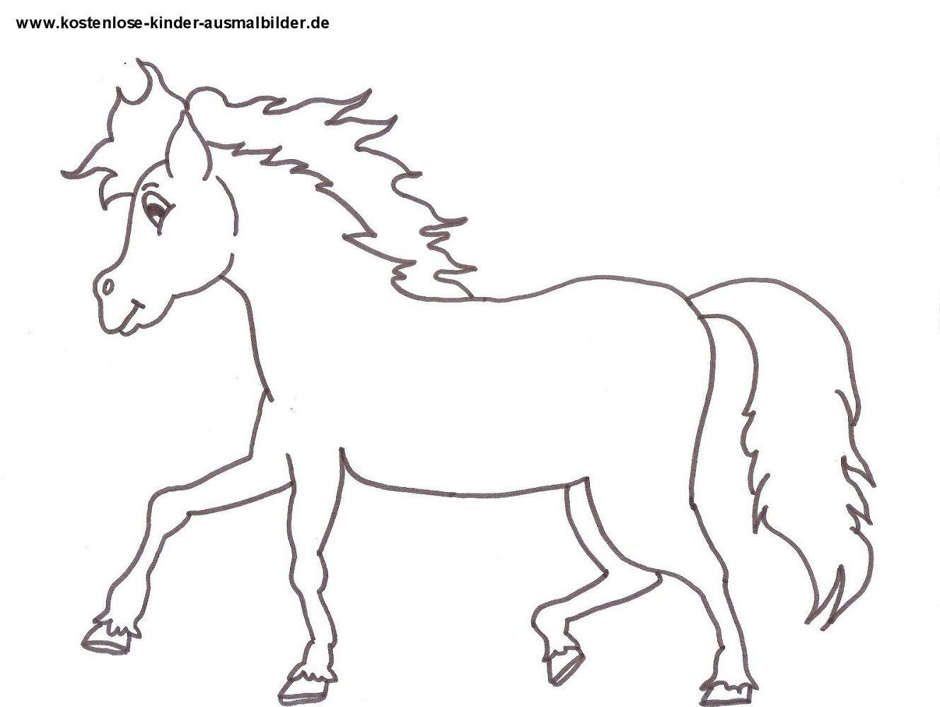 pferde ausmalbilder kostenlos 07   Malvorlagen pferde ...