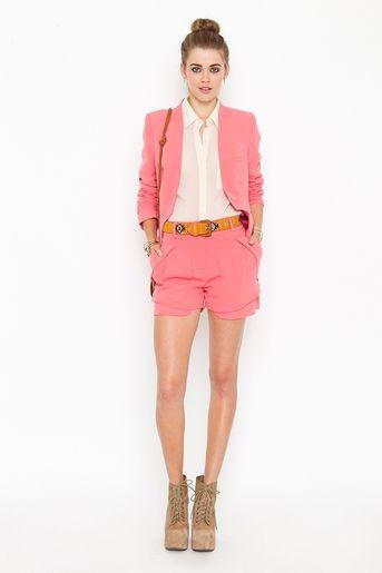 I have the blazer already.. all I need are the shorts. cute cute!