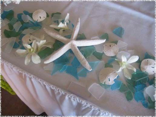 reception decorations   Decorations, Beach Wedding Reception Table Decorations: Beach Wedding ...