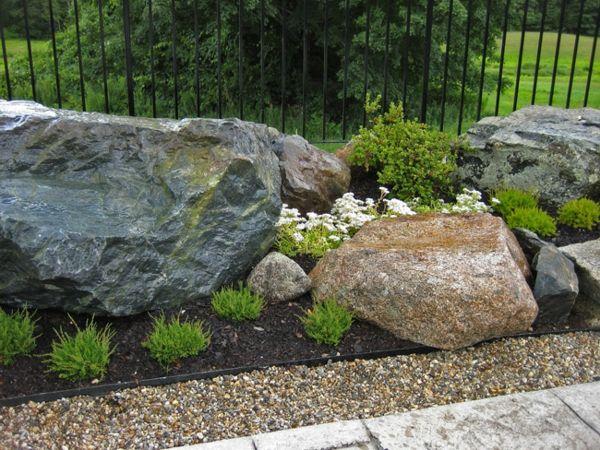 groe steine als deko fr den garten 53 erstaunliche bilder von gartengestaltung mit steinen - Gartengestaltung Steine
