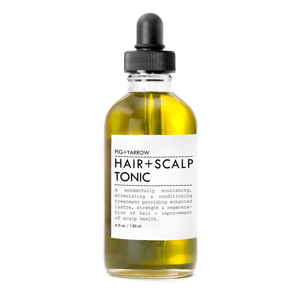 HAIRandSCALP TONIC / Beard oil - glass apothecary dropper bottle. $34,00, via Etsy.