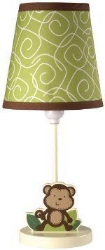 Amazon.com: NoJo Little Bedding Jungle Time Lamp and Shade: Baby