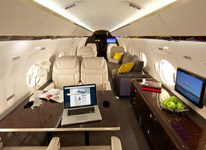 Gulfstream Elite Interior