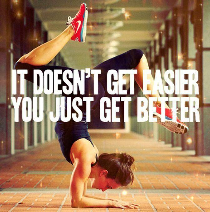 Just get better...