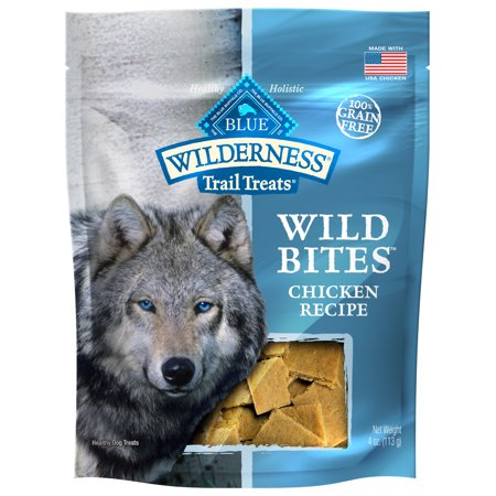 Blue Buffalo Wilderness Trail Treats Wild Bites Grain Free Soft