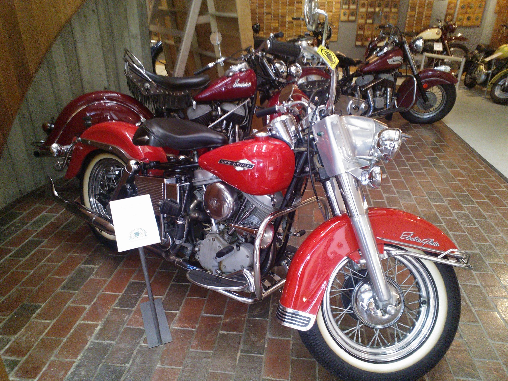 Pics from my visit at the AMA Motorcycle Hall of Fame Museum in Pickerington, OH.