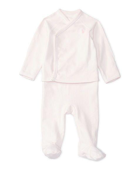 Cotton Kimono Top & Pant Set - Baby Girl Sets & Outfits - RalphLauren.com