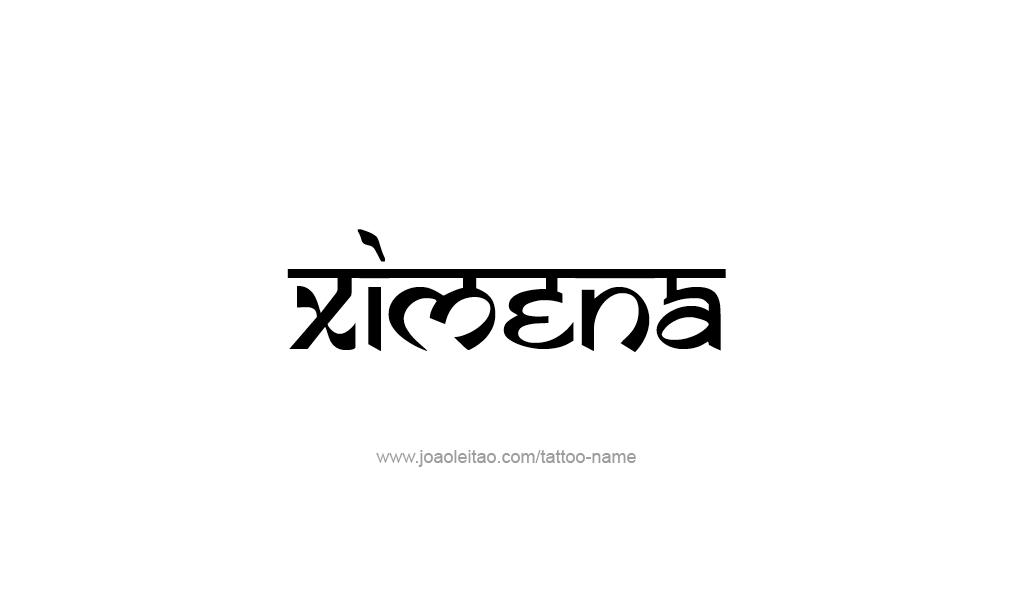 Ximena Name Tattoo Designs Fondos Tatuajes Creatividad Y Letras