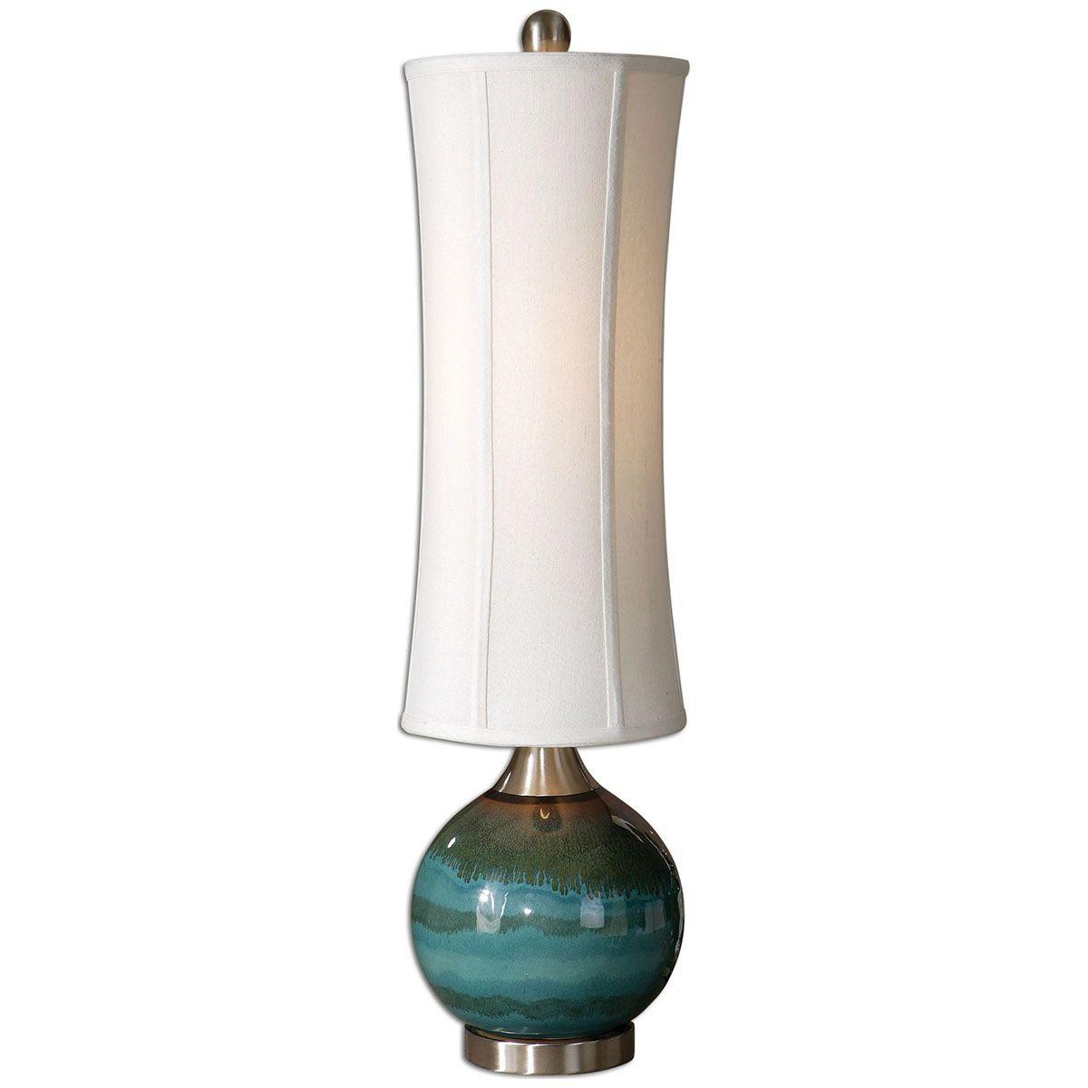 Uttermost Atherton Blue Buffet Lamp 29287-1