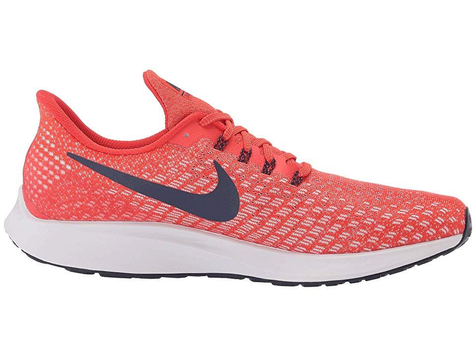 c4fa785a7d7d Nike Air Zoom Pegasus 35 Men s Running Shoes Habanero Red Blackened Blue Vast  Grey