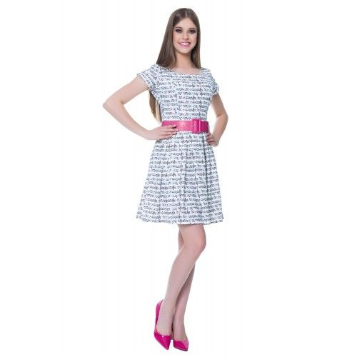 Vestido Musical Pink - Hapuk