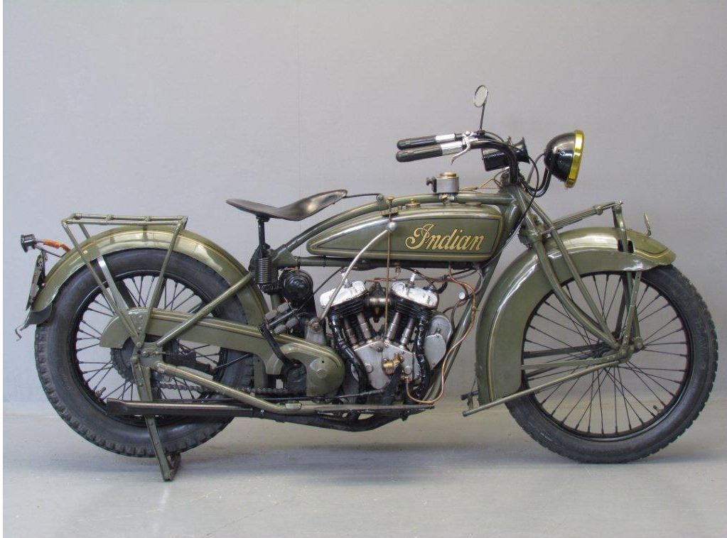 Indian 1925 Scout 600cc 2 Cyl Sv Motos Auto