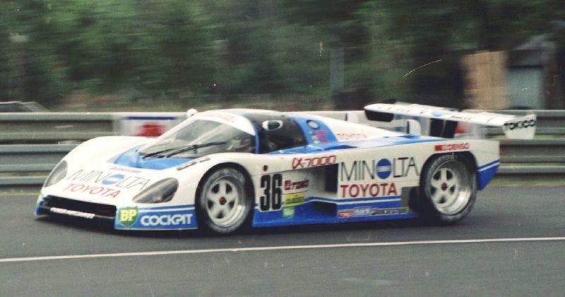 Minolta toyota 88c-v race car | レースカー, ル・マン, トヨタ
