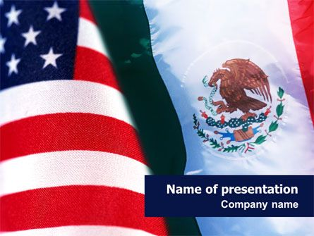 httpwwwpptstarcompowerpointtemplatemexico and usa mexico and usa presentation template