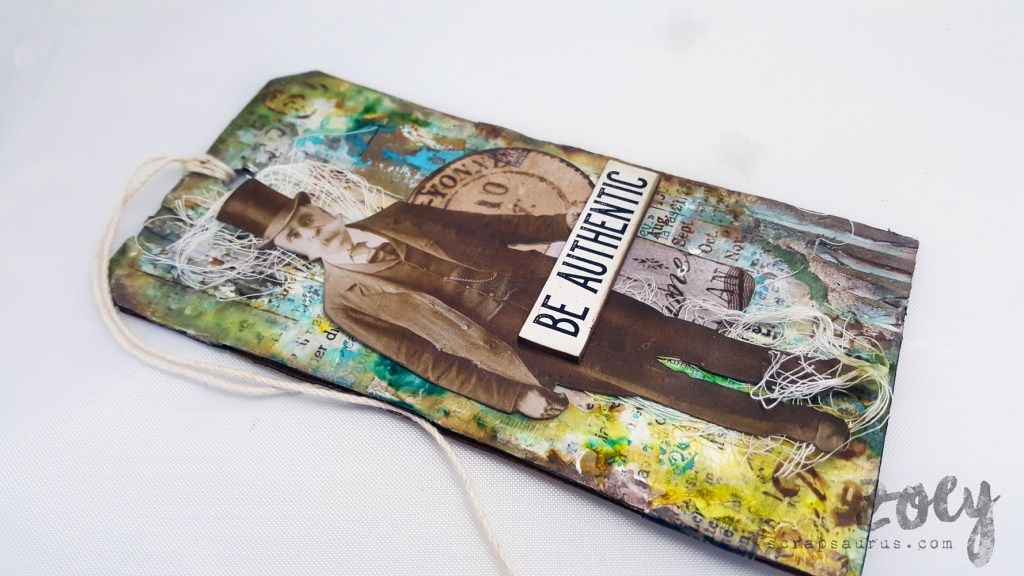 Be Authentic Tag | Zoey - Mixed Media & More