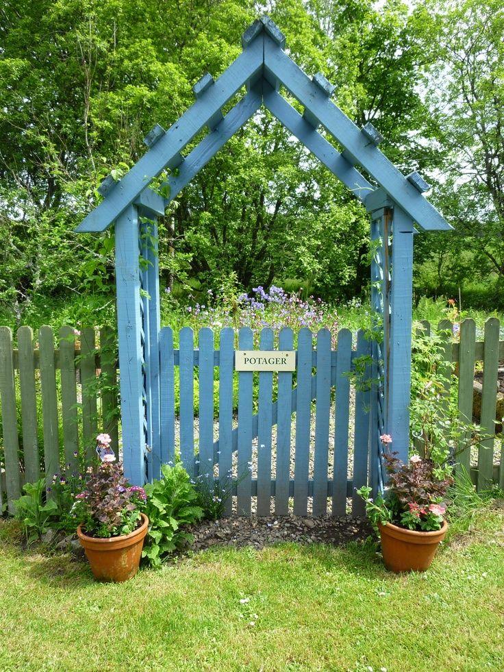 Dirnanean Garden Perthshire Scotland Garden Archway Garden Entrance Garden Arbor