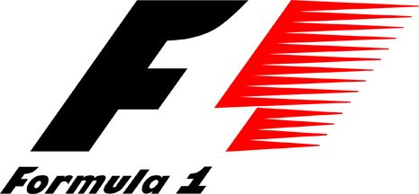 Fórmula 1: si nos fijamos bien, vemos que entre la F y las marcas de velocidad roja se dibuja el número uno en blanco.