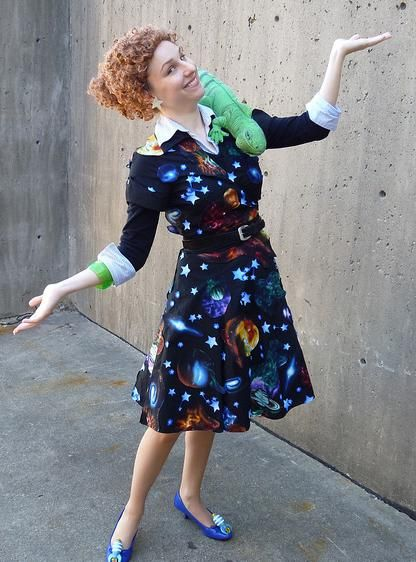 867a336eb Miss Frizzle from the Magic Schoolbus