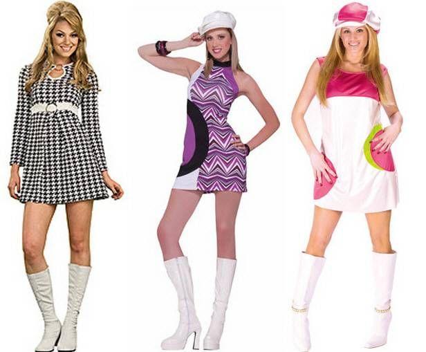 Roupas Utilizadas Nos Anos 60 Com Imagens Vestidos Anos 70