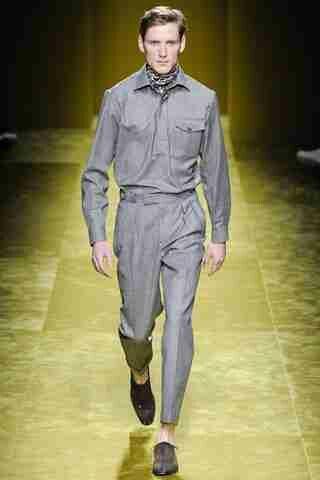 Salvatore Ferragamo Autumn-Winter 2016-2017 Menswear.