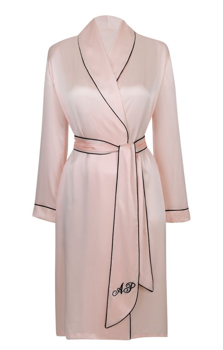 Agent Provocateur Classic Dressing Gown Pink. More in the LUSCIOUS ...
