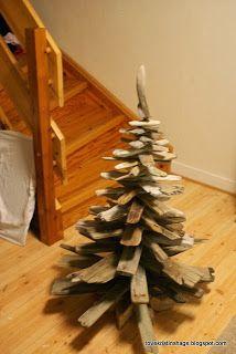 Tove Kristins Hage: Juletre av drivved -sånn gjorde jeg 1 2 3 :)