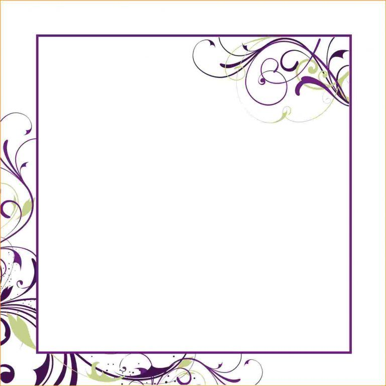 Beautiful Photos of Free Printable Blank Wedding Invitation
