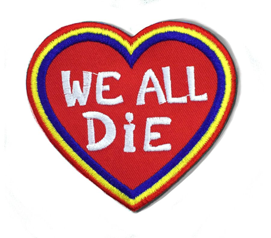 Wealldie325inchheartpatchwithirononadhesive Irononpatch