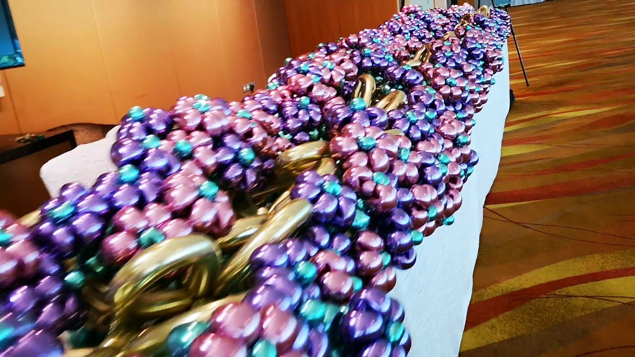 Chrome balloon flower bouquets singapore balloon flowers